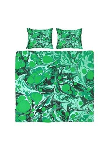 Helen George Mystic Çift Kişilik Nevresim Takımı Yeşil